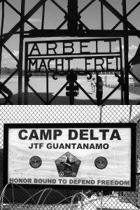 Guantanamo is the new Dachao - and the US imperialists are the true inheritors of Nazi fascism