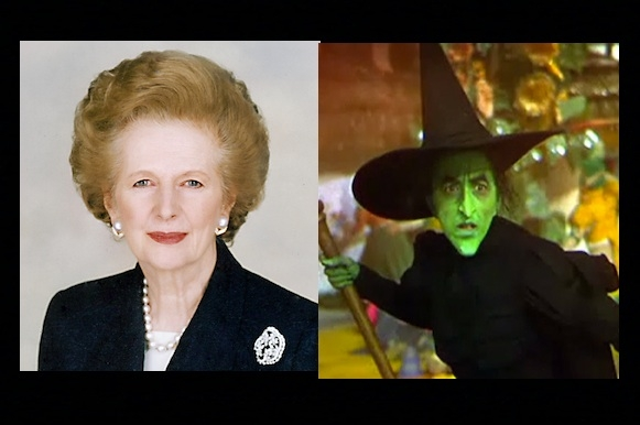 Margaret Thatcher and the Wicked Witch